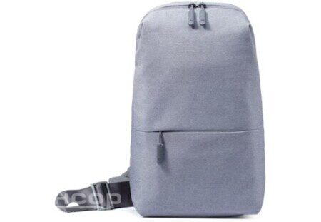 Рюкзак Xiaomi Mi City Sling Bag (Light Grey)